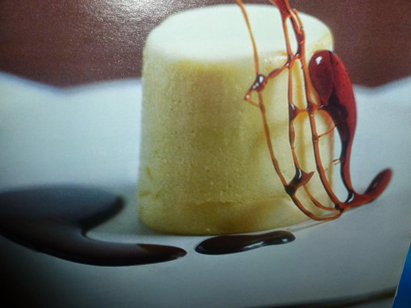 Flan al Cioccolato Bianco – con Yogurt