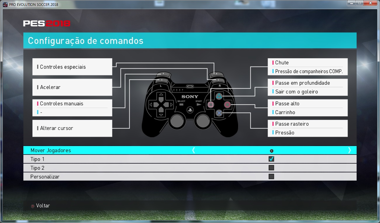 control button from pes2018ps3 to pes2018pc by CgM2k7