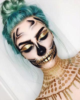 maquillaje de egipcia