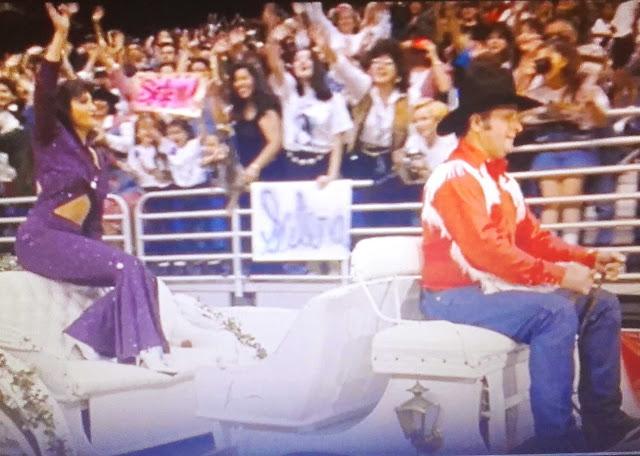 cena do filme Selena