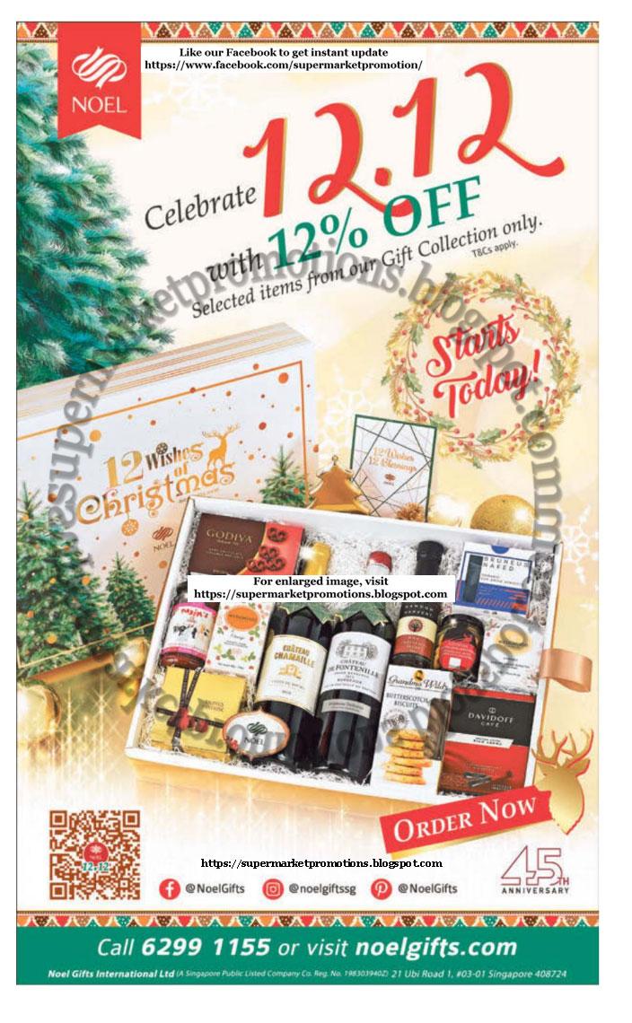 Noel 12 12 Promotion 09 December 2019 Supermarket Promotions