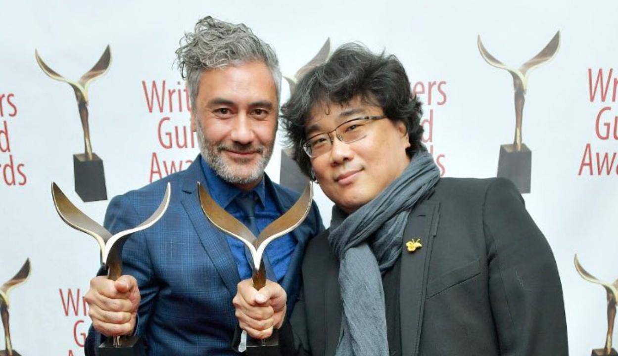 Taika Waititi y Bong Joon-ho ganaron en 2020 los premios del Sindicato de Guionistas