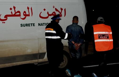 التهديد بسلاح ناري يوقف شابا بمدينة أكادير