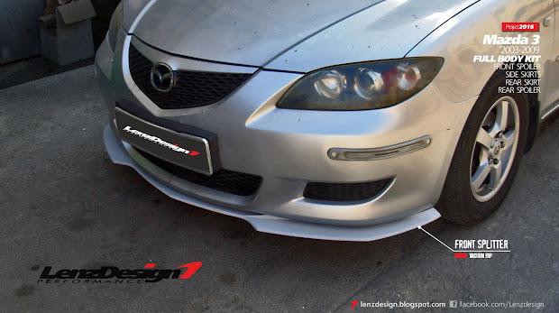 Mazda 3 2003-2009 Tuning - Body Kit Lenzdesign Performance