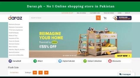 Daraz.pk No 1 Online shopping store in Pakistan