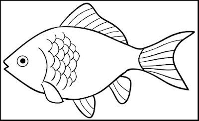 Gambar Sketsa Ikan Nilem