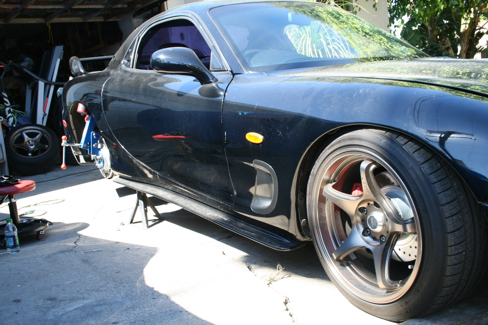 medium resolution of another rx7 with an ls1 motor