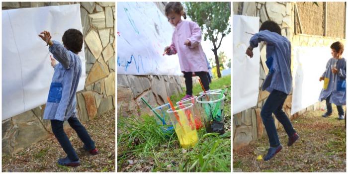 Expresar emociones a partir de música, pintura y cuentos. Educación emocional. Pintando y bailando la alegría