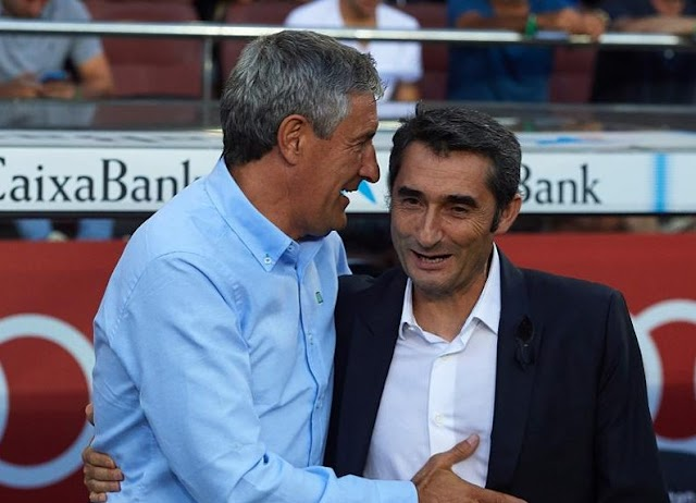 Barcelona FC Appoint Quique Setien As New Head Coach
