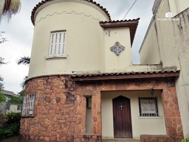 Vista ampla de antigo Casarão na Av. Brigadeiro Luís Antônio - Bela Vista - São Paulo