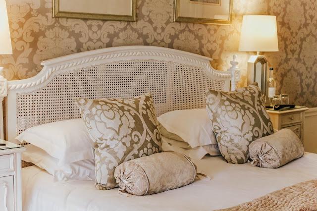 Rushton Hall Hotel Bridal Suite Bedroom