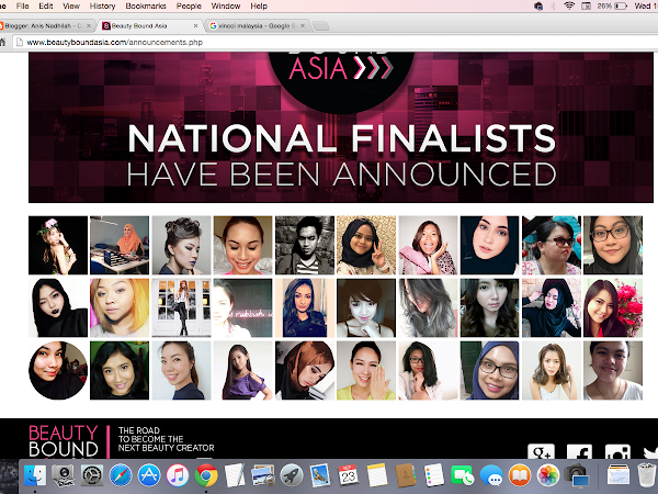 Event : I'M BEAUTYBOUND FINALIST! One step closer