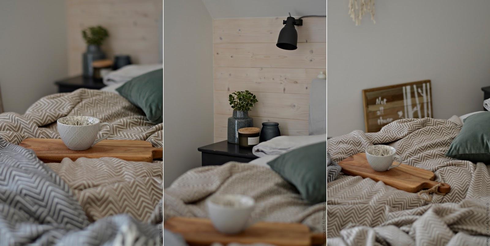 jesienna sypialnia