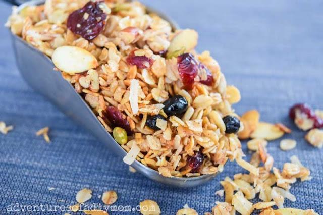 scoop of granola