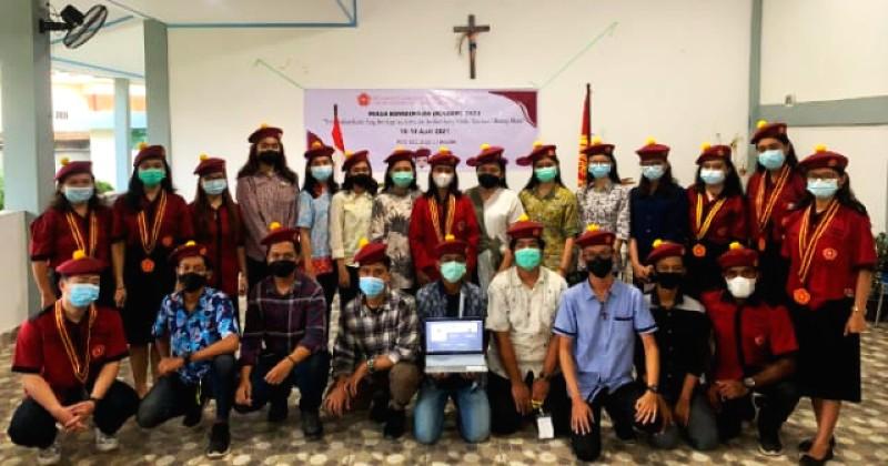Melalui Masa Bimbingan, PMKRI Palembang Realisasikan Tiga Benang Merah