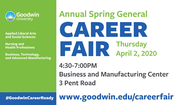 General Career Fair on April 2, 2020
