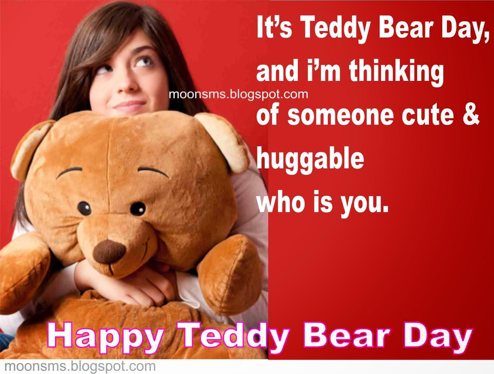 Happy teddy day greeting valentines day info happy teddy day greeting m4hsunfo