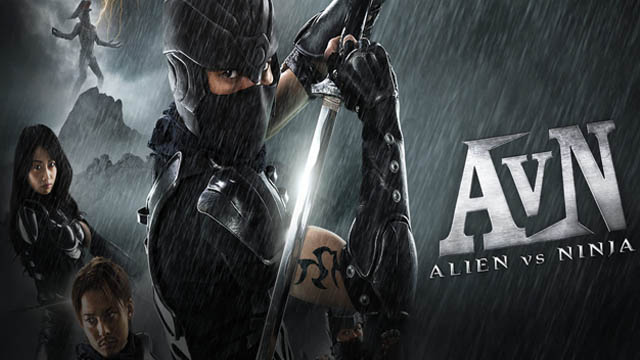 Alien vs Ninja (2010) Hindi Dubbed Movie 720p HDRip Download