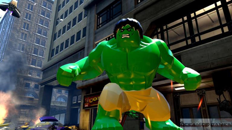 LEGO Marvel Avenger