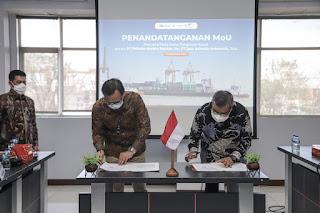 PT JAI dan PMS Tanda Tangani MoU  Untuk Dukung Pelindo Bersatu