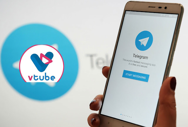 Cara Gampang Daftar vTube Dengan Menggunakan Telegram 100% di Terima