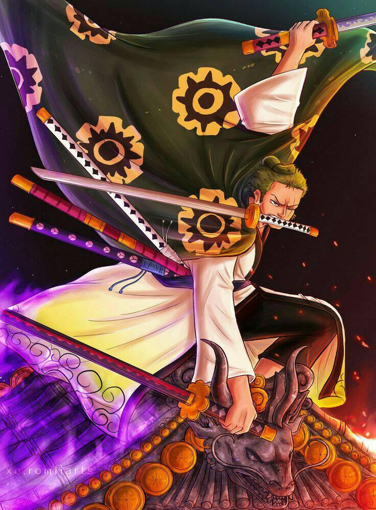 Zoro - One Piece - Wallpaper - BlogFanArt
