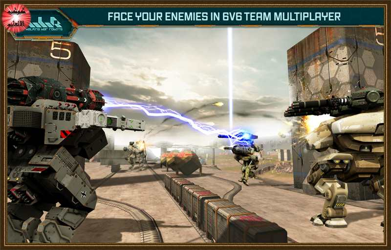 Walking War Robots v1.4.2 Apk + Mod + Data for android