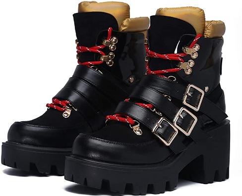Cape Robbin Vain Combat Ankle Women Thursday Boots
