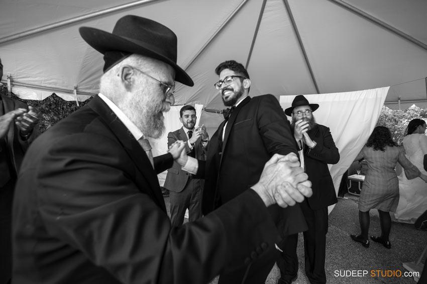 Orthodox Jewish Wedding Photography Best Dancing by SudeepStudio.com Ann Arbor Wedding Photographer