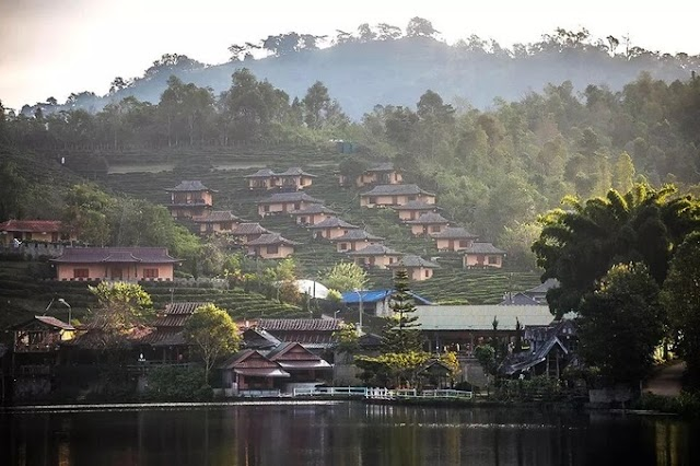 The picturesque Chinese village in Thailand