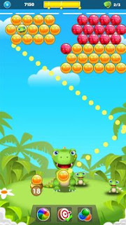 Dino Rescue: Pop Bubble Shooter Apk - Free Download Android Game