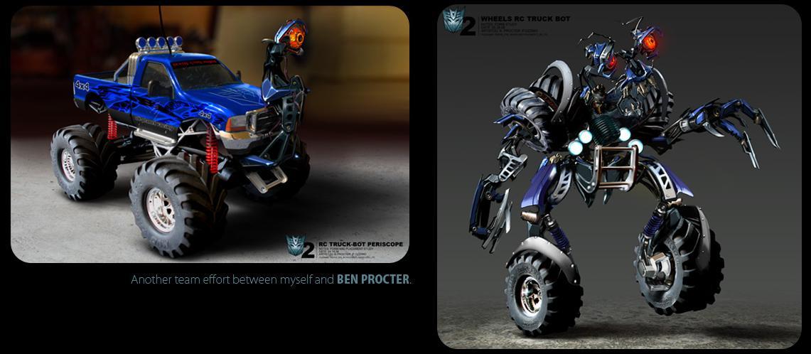 Transformers Revenge Of The Fallen Concept Art By Paul
