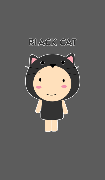 Boy Black Cat theme