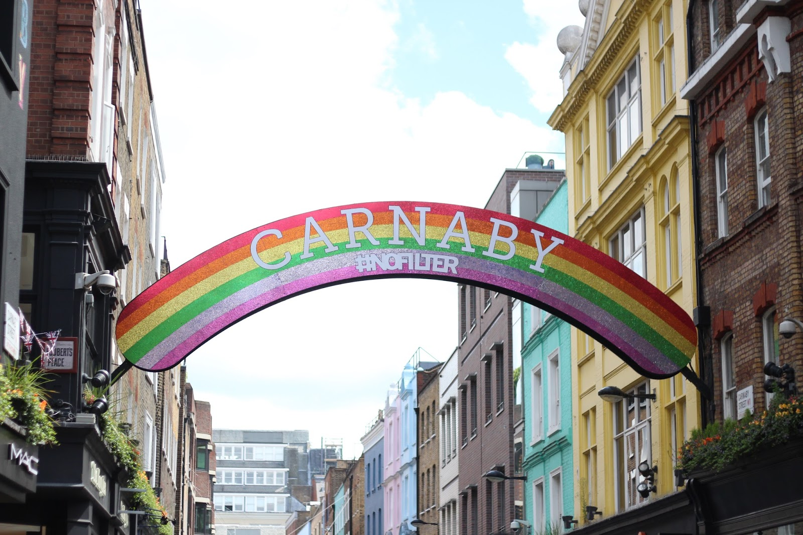 Gay Pride Carnaby Street London