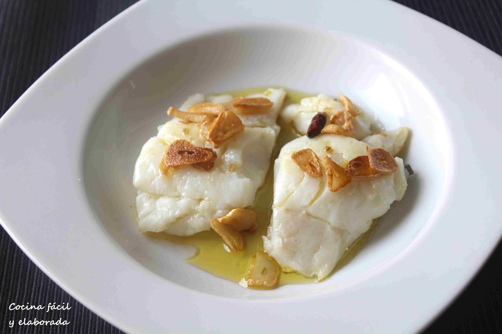 Cocina facil y elaborada bacalao a baja temperatura con for Cocina baja temperatura