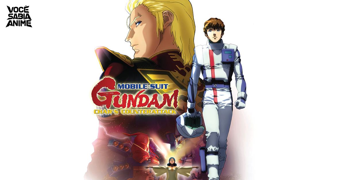 Gundam Hathaway - trilogia ganha data em evento da franquia