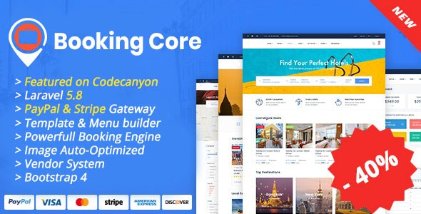 Download Booking Core v1.5.1 - Ultimate Booking System