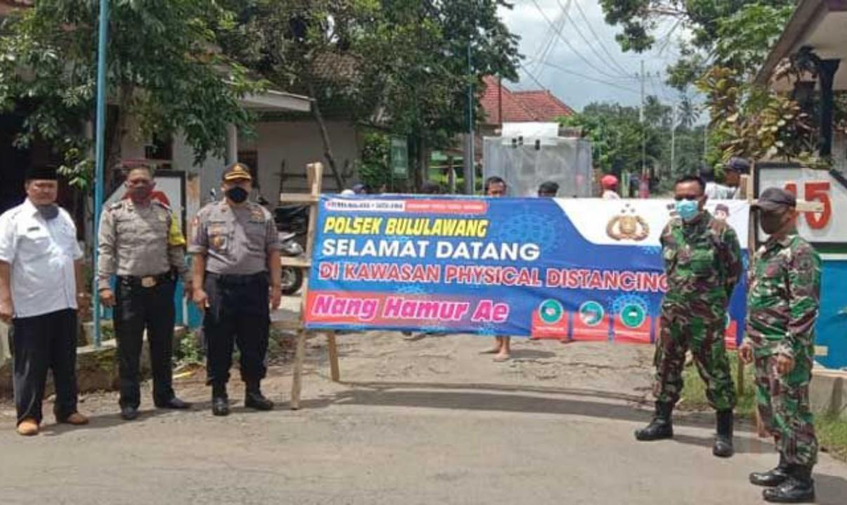 Terapkan Physical Distancing, Polsek Bululawang Siapkan Petugas Di Desa Kuwolu