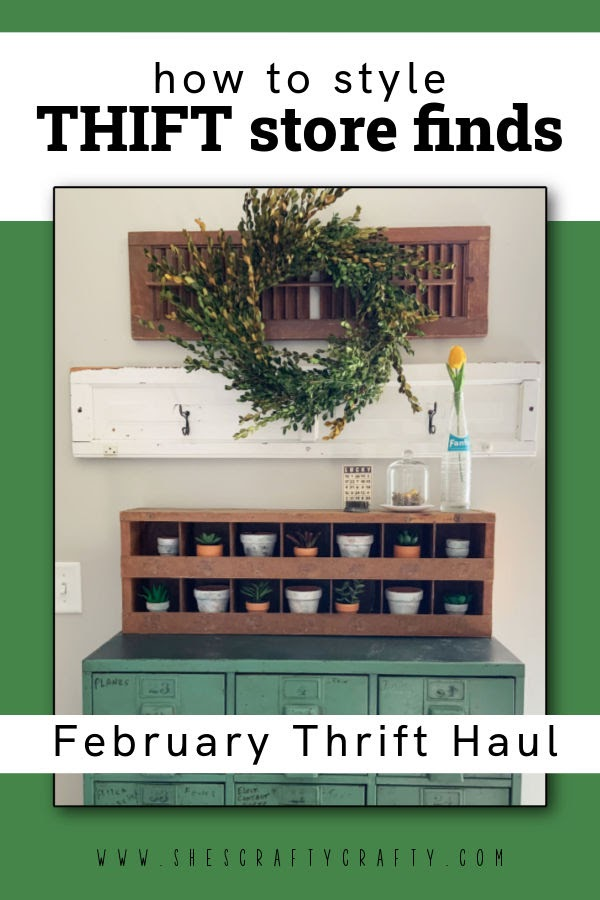 How to Style Thrift Store Finds for February