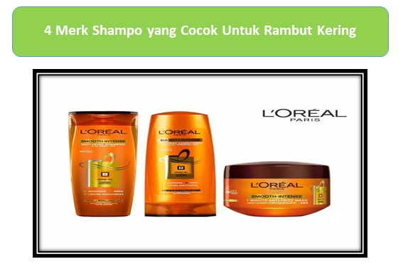 L'Oreal Paris smooth intens caring