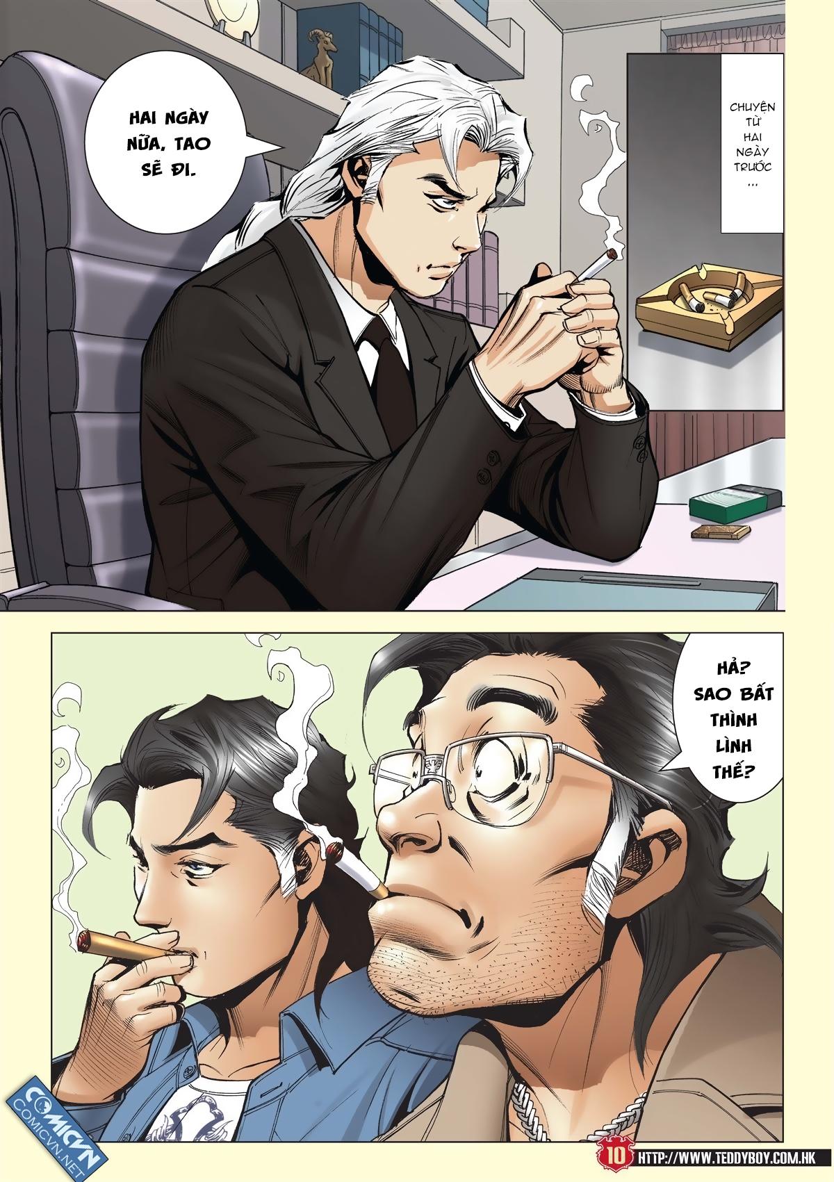 Người Trong Giang Hồ chapter 2011: hàn tân bỏ trốn trang 9