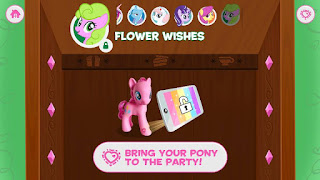 MLP Flower Wishes in the Friendship Celebration App