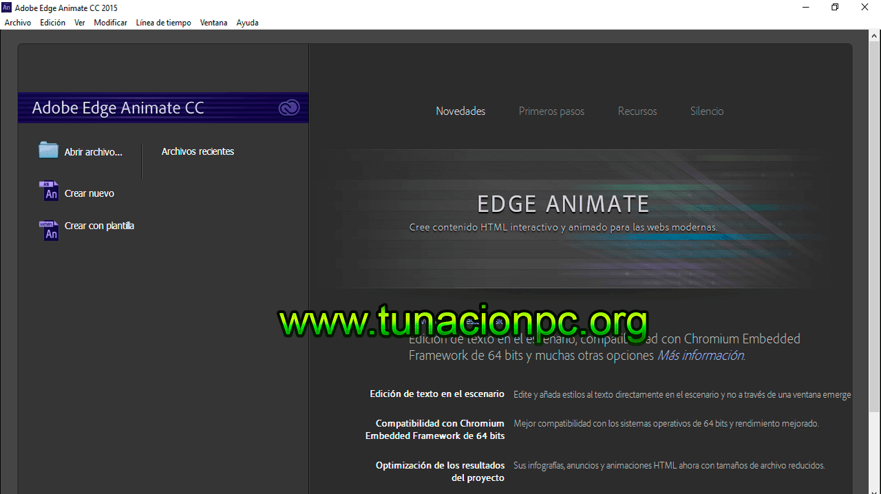 Adobe Edge Animate CC 2015 Full español