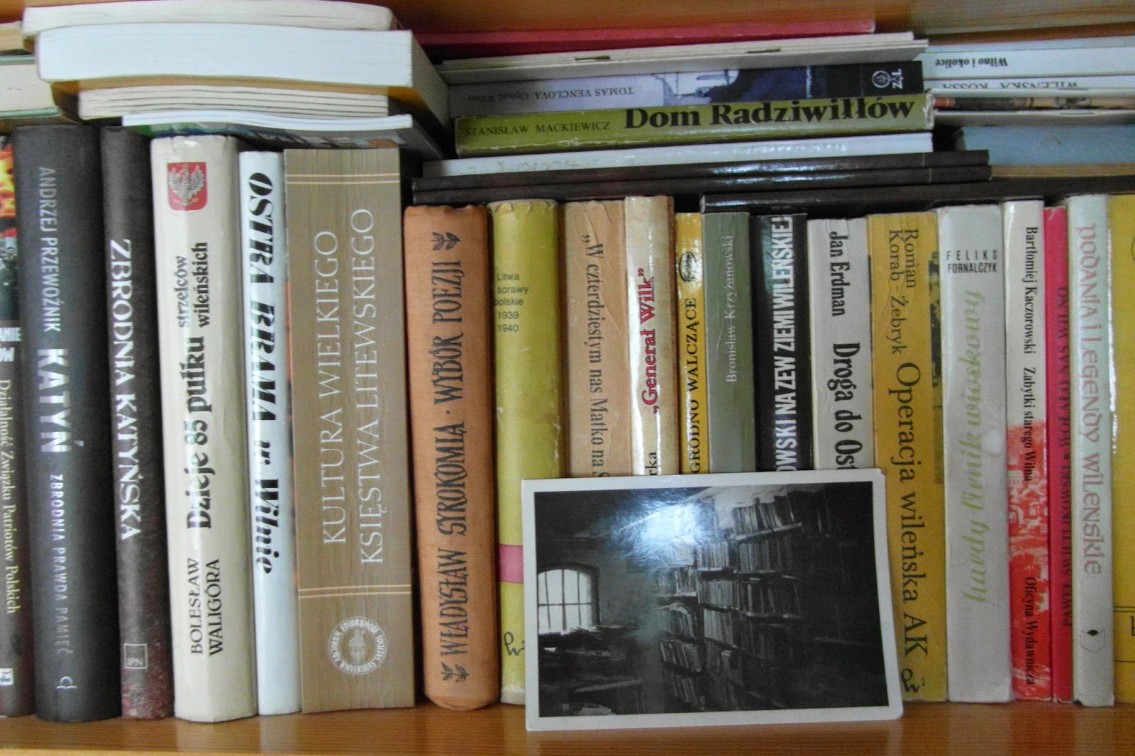 O, książki moje!      historia i ja