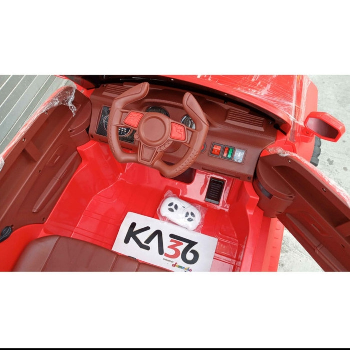 Mobil Mainan Anak Aki Anak Jeep Prado MOB 2023 Jumbo 2 Seater