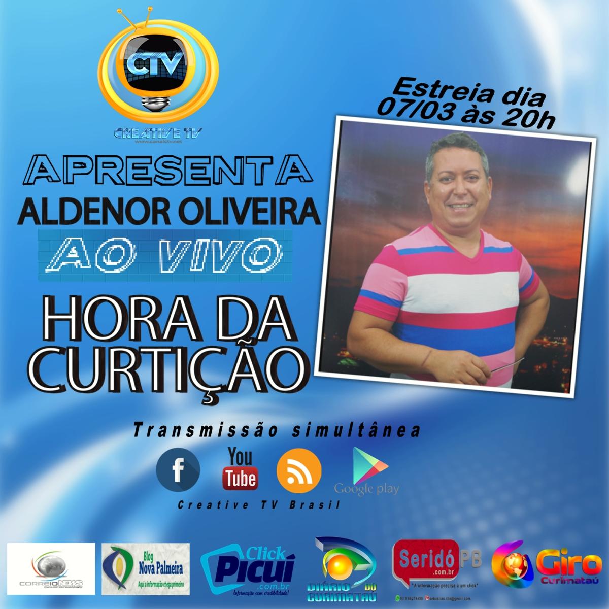 Aldenor Oliveira O Novo Apresentador Da Creative Tv Brasil  -> Sala De Redacao Na Tv Ao Vivo
