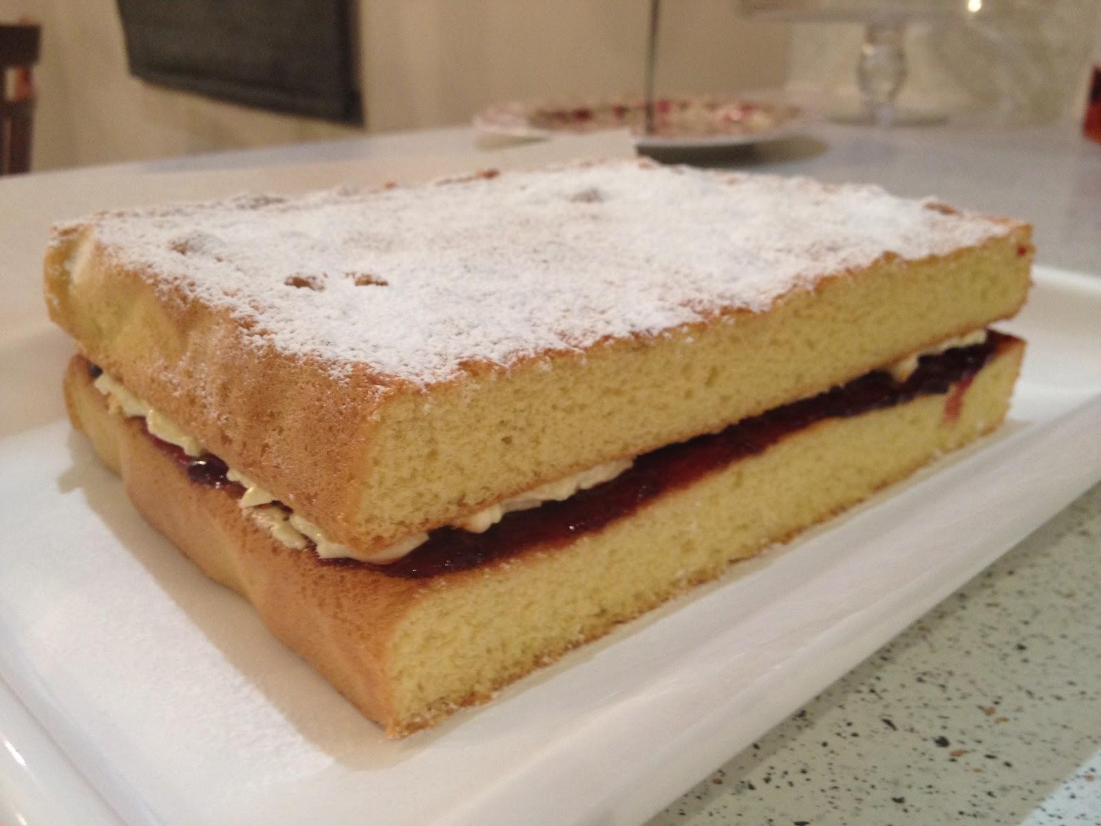 Mock Cream For Sponge Cake