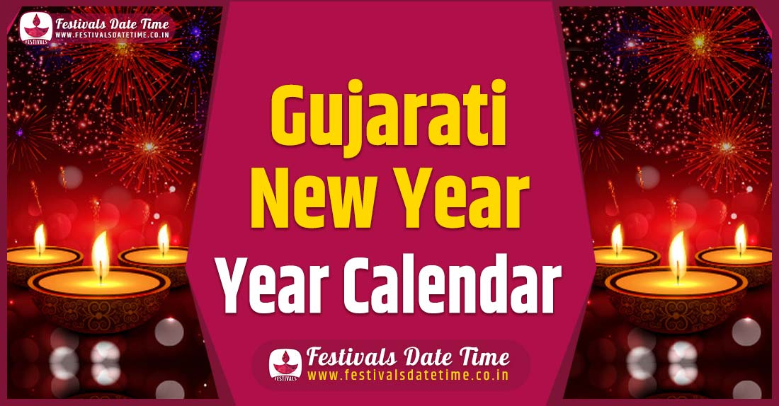 Gujarati New Year Calendar, Gujarati New Year Festival Schedule