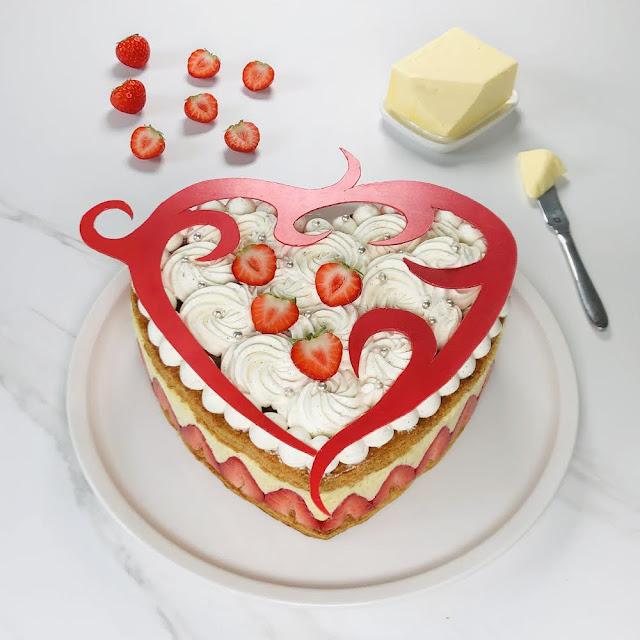 beurre charentes poitou app gâteau à la fraise