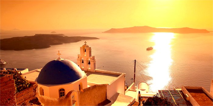 Il posto migliore per vedere il tramonto a Thira(Santorini)